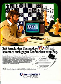 Vintage Computer Ads - Commodore VC 20.....................................Please save this pin.   ............................................................. Click on the following link!.. http://www.ebay.com/usr/prestige_online