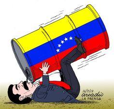 Arcadio Esquivel - Costa Rica, Caglecartoons.com - Nicolas Maduro's government style/ - English - Maduro, Venezuela, Corrupction, Government, Oil, Latin America, Socialism