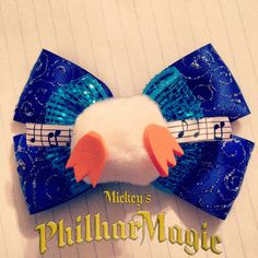 Hey, I found this really awesome Etsy listing at http://www.etsy.com/listing/175405528/bow-inspired-by-mickeys-philharmagic
