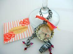 DIY Bottle Cap Charm Bracelet