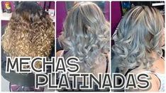 mechas platinadas paso a paso /lily makeup - YouTube