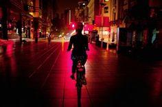 Night Bike Among Shanghai's Secrets
