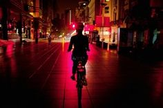 Night Bike Among Shanghai's Secrets