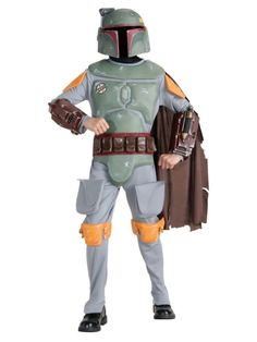 Deluxe Boba Fett Child Costume | Wholesale Star Wars Costumes for Boys