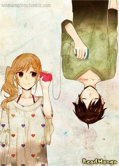 Really cuteeee manga! I really love their relationship it is so amazing. Maybe I because I had only readed mangas like: Death Note, Kuroshitsuji. My third (maybe second) favorite manga! Manga Anime, Anime Boys, Manga Love, I Love Anime, Awesome Anime, Kawaii Anime, Photo Manga, Art Noir, Image Couple