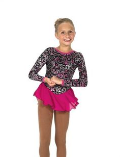 Jerry's Figure Skating Dress 13 - Take a Twirl (Black)