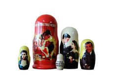 Matryoshka Gone With the Wind. 5 Piece Nesting Doll от bessershop