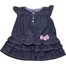 Vestido Infantil Meia Malha Picolé Azul Marinho Kyly