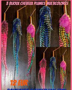 Retrouvez cet article dans ma boutique Etsy https://www.etsy.com/be-fr/listing/516767929/3-bijoux-epingles-cheveux-plumes-de-coq
