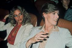 June David Bowie and actress Sydne Rome at the French premiere of 'The Man Who Fell To Earth', Gaumont Élysées Theatre, Paris. Lady Stardust, Ziggy Stardust, Sydne Rome, David Bowie Born, Berlin, Aladdin Sane, The Thin White Duke, Major Tom, Miles Davis