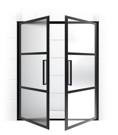full french doors coastal shower doors