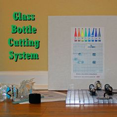 Creator's has a new bottle cutter that's easy to use and easy on the pocket book as well! Bottom Of The Bottle, Bottle Top, Recycled Bottle Crafts, Bottle Cutter, Bottle Lights, Plant Holders, Sharpie, Glass Bottles, The Creator