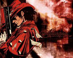 Hellsing red | Alucard