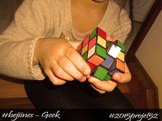Le fameux Rubik's cube ! Perso je n'ai jamais réussi ;) #2015projet52 #geek