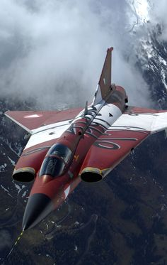 J-35 Draken by Saab wearing special paint is one of the coolest designs ever however you color it.