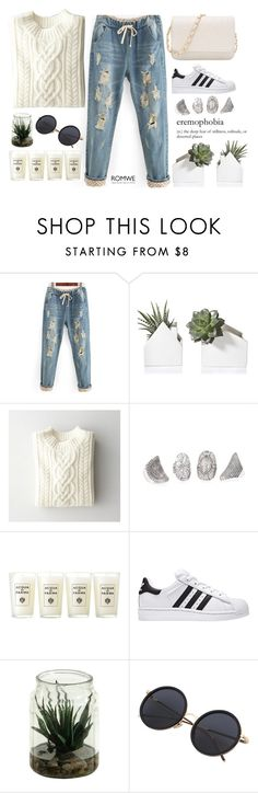 """""""#Romwe"""" by credentovideos ❤ liked on Polyvore featuring Steven Alan and Acqua di Parma"""