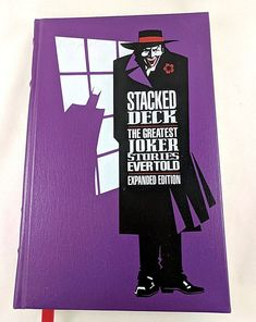 Stacked Deck The Greatest Joker Stories Evertold Expanded Ed. HC 1990 1st Prtg