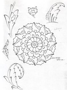 zeynebistan: Mayıs 2007 Pattern Drawing, Pattern Art, Zentangle, Graffiti, Arabic Pattern, Islamic Patterns, Turkish Art, Thai Art, Mandala Painting