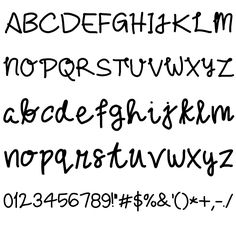 For Her By @fananmoch Font