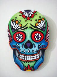 Calaveras Mexicanas Wallpaper , image collections of wallpapers Sugar Skull Painting, Sugar Skull Art, Caveira Mexicana Tattoo, Sugar Scull, Painted Rocks, Hand Painted, Art Pierre, Halloween Rocks, Day Of The Dead Skull