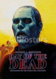 Day of the Dead Movies Masterprint - 28 x 43 cm