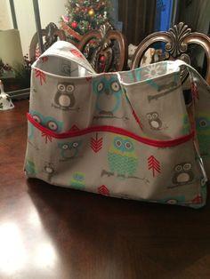 Diaper bag made for granddaughter Amelia Sankey