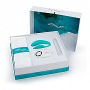 We-Vibe Passionate Play Collection - The perfect gift for a happy couple, the We-Vibe Passionate Play Collection includes a limited-edition aqua blue We-Vibe 4 Plus, pearl white Tango and Silky Sash for fun play. This kit makes a fantastic wedding, anniversary, bridal shower or birthday gift…