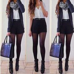 Best Outfit Styles For Women - Fashion Trends Mode Outfits, Short Outfits, Casual Outfits, Fashion Outfits, Womens Fashion, Fashion Trends, Fall Winter Outfits, Autumn Winter Fashion, Dress Winter