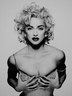 If i ever cut my hair this is how it must look! ;) Madonna by Patrick Demarchelier
