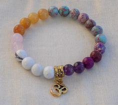 NEW to Moon and Star Mala!!! Sweet Harmony Mala Bracelet - Reiki energized - prayer beads - gemstone mala http://etsy.me/2ClxpMN  #malabracelet #moonandstarmala