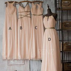 Bridesmaids Dresses Online 2015 Long Bridesmaid Dresses Cheap Chiffon Mix Styles Summer Beach Wedding Party Maid Of Honor Gowns Plus Size Custom Made Bridesmaid Dresses Purple From Marrysa, $87.96  Dhgate.Com