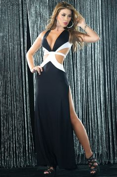 Black Long Gowns, Sexy long Black Gowns, Sexy Evening Gowns, Sexy Long Evening Gown