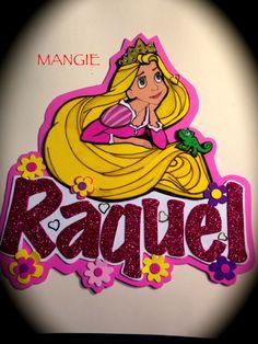 Artemangie: LETRERO RAPUNZEL- GOMA EVA Princess Peach, My Love, Grafiti, Disney, Fun, Banners, Aurora, Allah, Cartoons