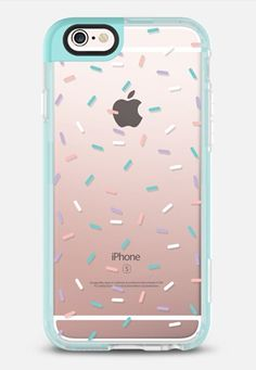 Casetify iPhone 7 Case and Other iPhone Covers - Pastel Confetti Sprinkles…