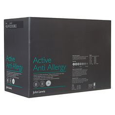 Buy John Lewis Active Anti Allergy Duvet, All Seasons 13.5 Tog (9+4.5 Tog) Online at johnlewis.com