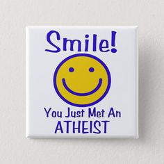 Atheist Pinback Button Face Outline, Atheism, Text You, Custom Buttons, Diy Face Mask, Dog Design, Funny Cute, Kids Shop, Letters
