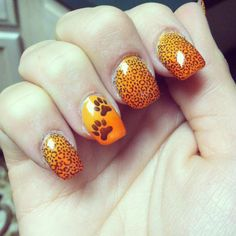 Leopard Print Nails, Stamping, Stud Earrings, My Style, Jewelry, Jewlery, Jewerly, Stud Earring, Schmuck