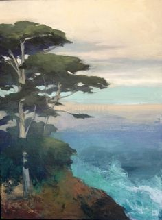 Central Coast Cypress I by Julia Purinton