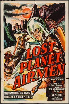 "Lost Planet Airmen (Republic, 1951). One Sheet (27"" X 41""). | Lot #51257…"