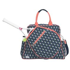Slam Glam - Ame and Lulu Harper Pineapple Tennis Tour Tote Bag, $148.00 (http://www.slamglam.com/ame-and-lulu-harper-pineapple-tennis-tour-tote-bag/)