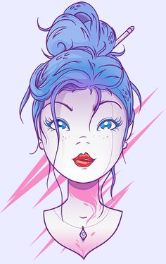 Pretty Face by Victor Vergara