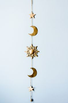 Sun Moon Stars Wall Hanging Decor