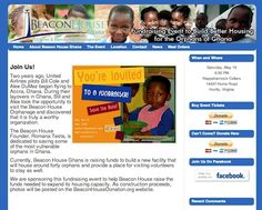 Nonprofit website design -- http://www.beaconhousedonations.org -- a fundraising website to benefit Beacon House foster home and orphanage in Ghana.  For more information visit http://www.herbstmarketing.com