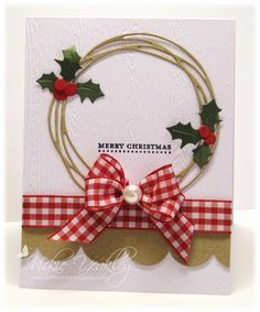 FF16hbrown Holly Berry vky by Vickie Y - Cards and Paper Crafts at Splitcoaststampers