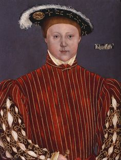 Edward VI, son of Henry VIII and Jane Seymour. Painted by Hans Holbein the Younger Los Tudor, Tudor Era, Jane Seymour, Tudor History, British History, Asian History, European History, Henry Viii Children, Henri Viii