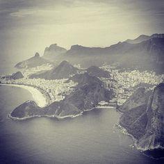 Another birds eye view of Rio de Janeiro, Brasil