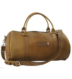 """USA Made Duffel Bags - Rimini 18"""" Round Carry on Leather Duffel Bag Brown Buy Now http://www.copperriverbags.com/executive-rimini-18-round-carry-on-leather-duffel-brown-made-in-the-u-s-a-18-600-10/"""