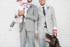 Rodrigo e Guilherme | Frankie e Marília| Charmoso mini wedding homoafetivo no Ruella | São Paulo - Real Wedding