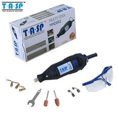 TASP 220V 130w Variable Speed Electric Rotary Tool Dremel Style Mini Drill with Safety Glasses and Accessories