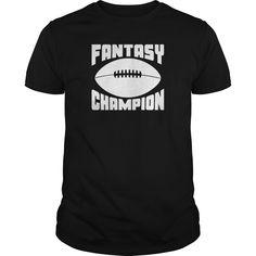 Fantasy Football Champion - Baseball T-Shirt